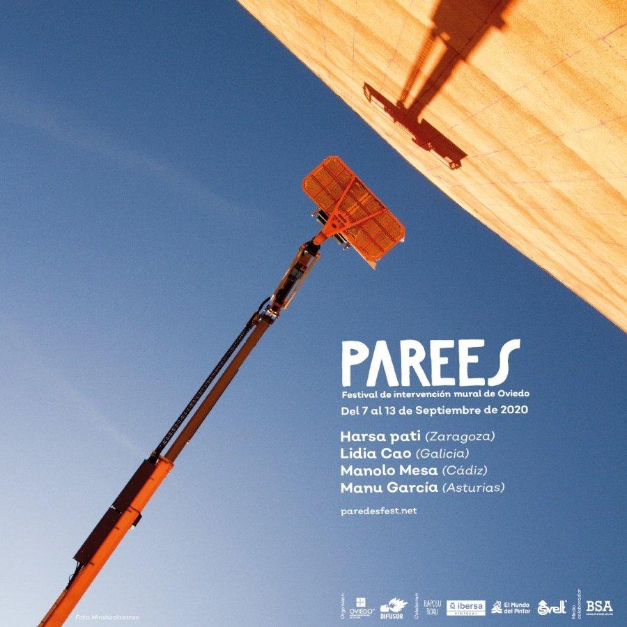 Cartel oficial del Parees Festival 2020