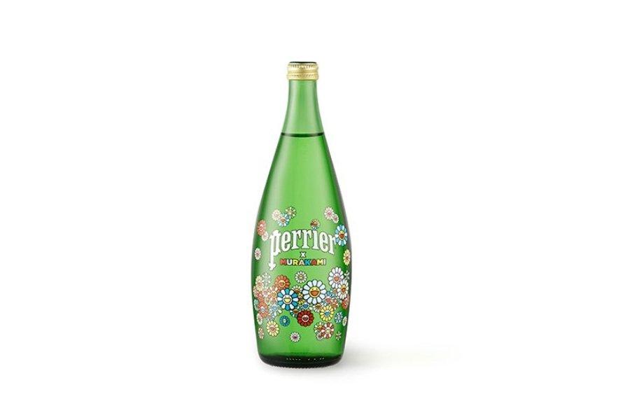 Perrier y Takashi Murakami colaboran en botellas de edición limitada