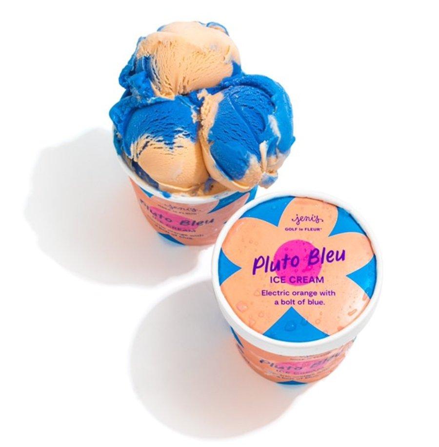 Aspecto del sabor Pluto Bleu, el helado de Tyler, the creator