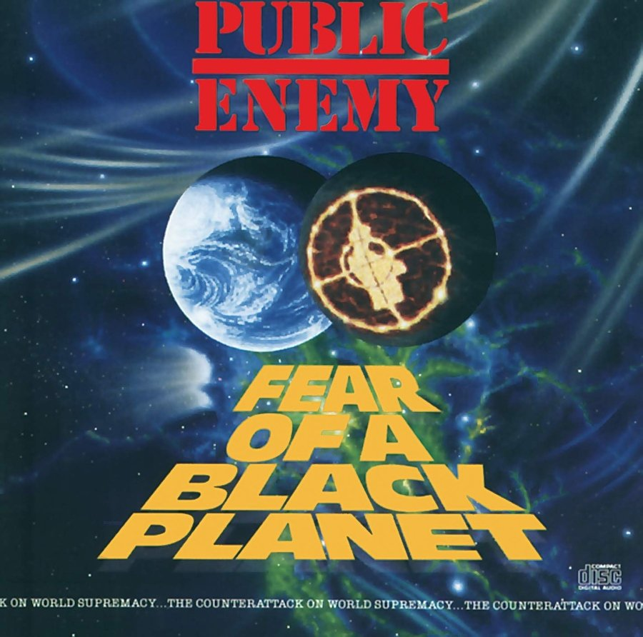 Portada Fear Of a Black Planet