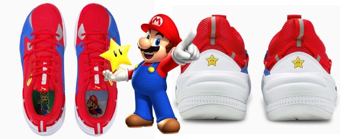 Puma y Nintendo lanzan tenis de Super Mario Bros