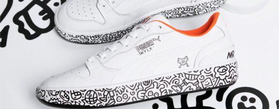 Puma y Mr. Doodle presentan su primera colaboración