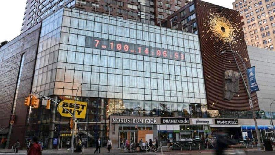 """""""Climate Clock"""" en Nueva York"""