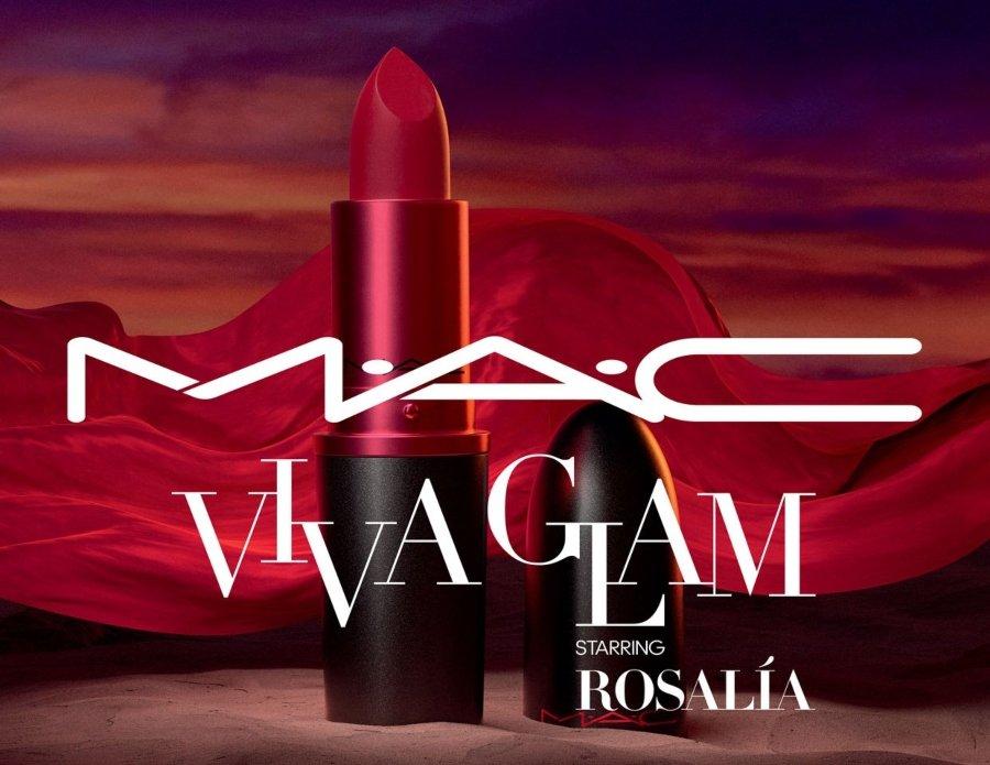 Rosalía y Mac para la campaña Viva Glam 2020