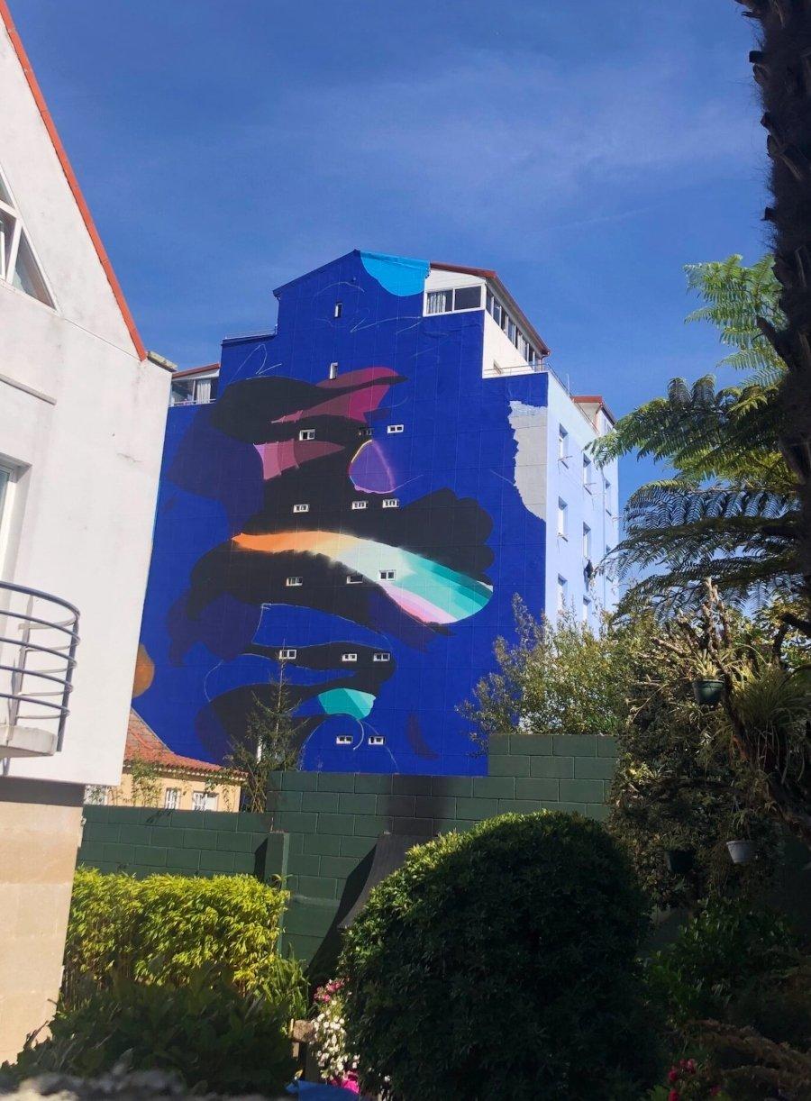 Mural por Sabek en España