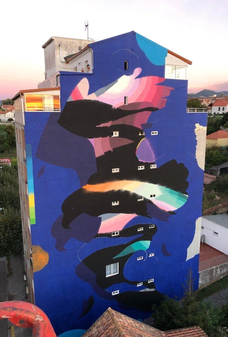 Sabek y su nuevo mural en España en honor a Vigo