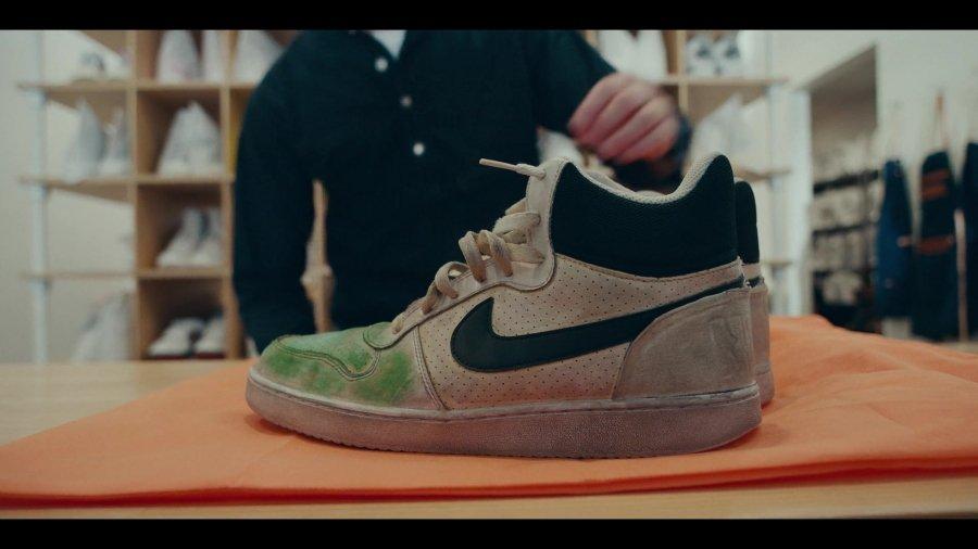 Escena de la nueva serie de Netflix sobre sneakers, Sneakerheads