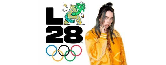 Billie Eilish y Steve Harrington diseñan logos para los Juegos Olímpicos