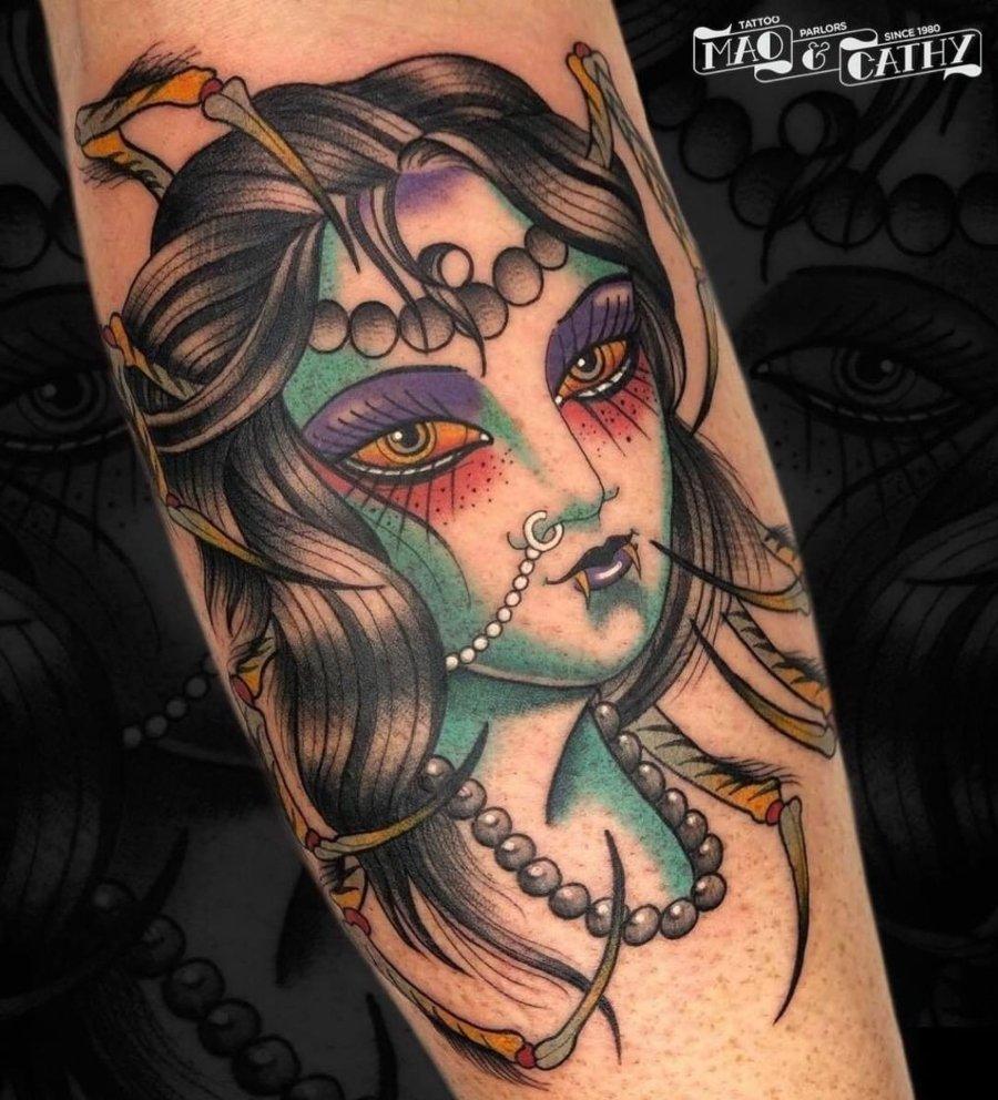Tatuaje de Mao and Cathy