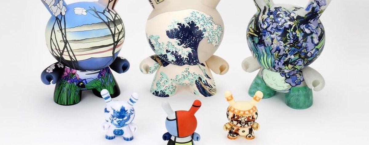 El Met y Kidrobot lanzan figuras inspiradas en Van Gogh y Mondrian
