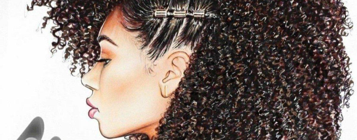 Tyler Clark y sus pinturas con cabello real