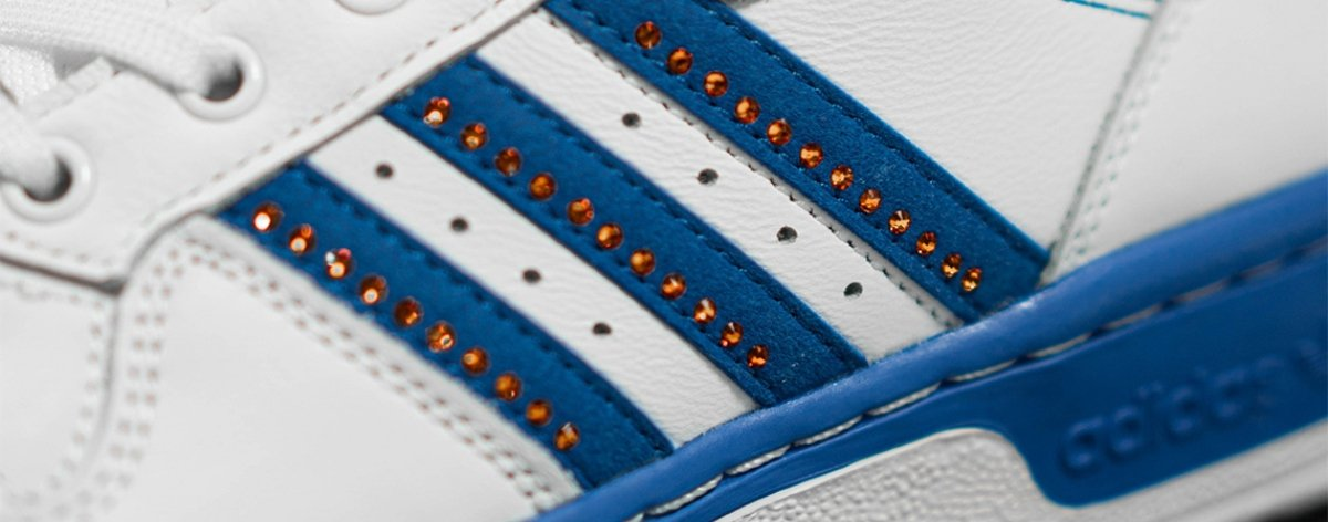 Adidas x Swarovsky en una colección ultra brillante