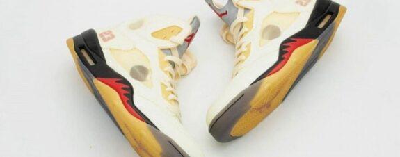 Air Jordan 5 x Off-White, nuevo modelo
