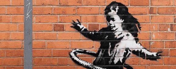 Nueva pieza de Banksy aparece en Nottingham