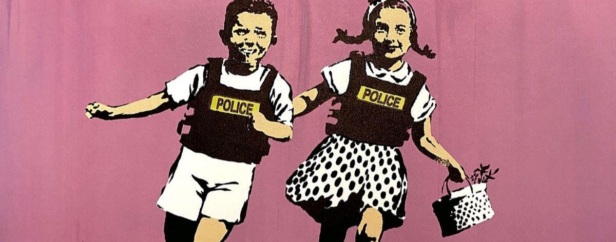 Resultado de imagen de banksy. exposiciones