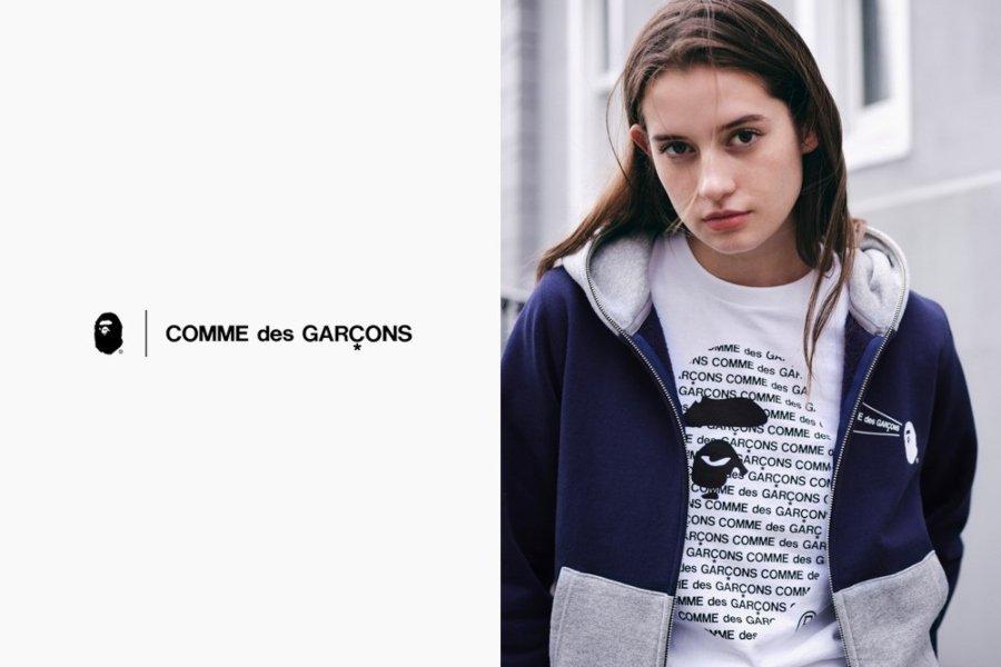 Colección BAPE x Commes des Garcons