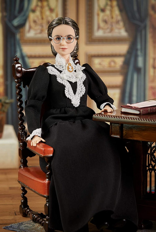 Barbie Susan B. Anthony por Mattel