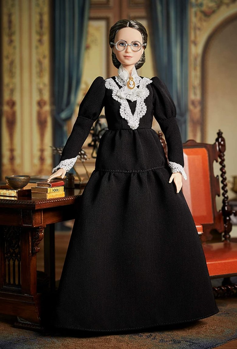 Barbie de Susan B. Anthony celebra el voto de la mujer
