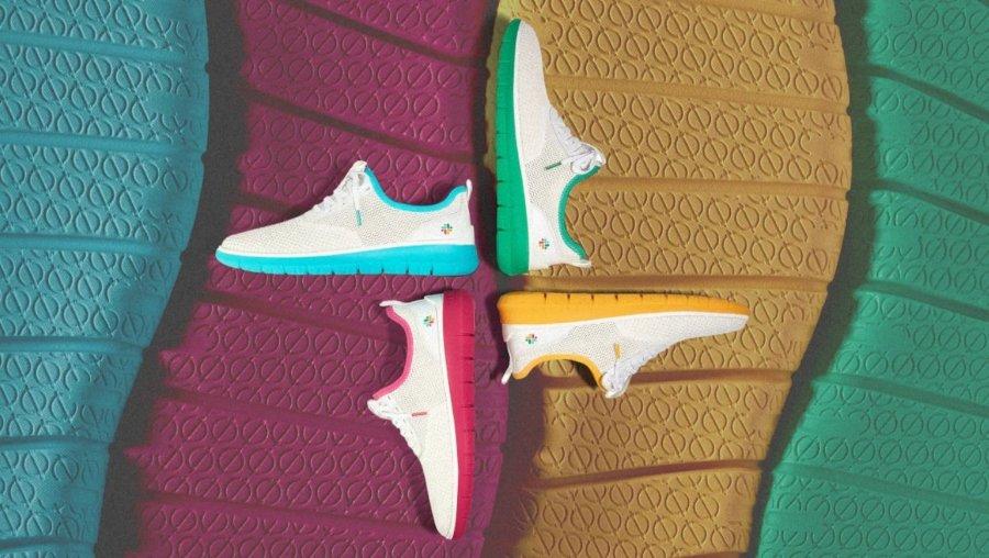 Edición especial de sneakers de la compañía de mensajería