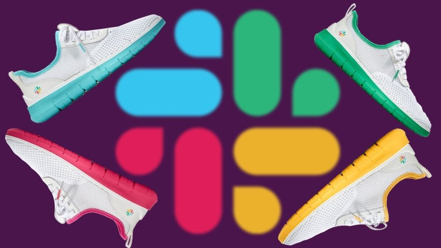 Edición especial de sneakers de Cole Haan pos Slack