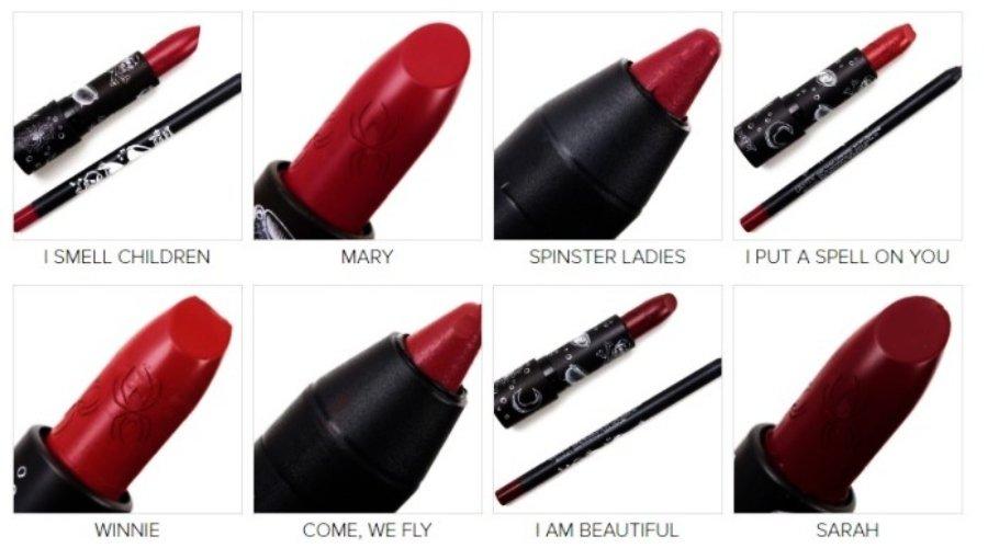 Set de maquillaje de ColourPop inspirado en Hocus Pocus