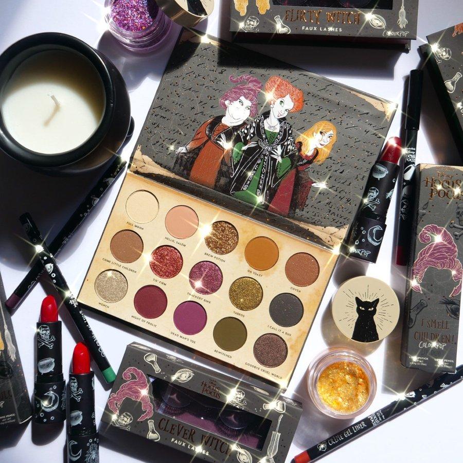 Set de maquillaje inspirado en Hocus Pocus