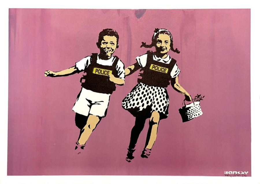 "Exposición de Banksy ""Catch Me If You Can"" disponible vía web"