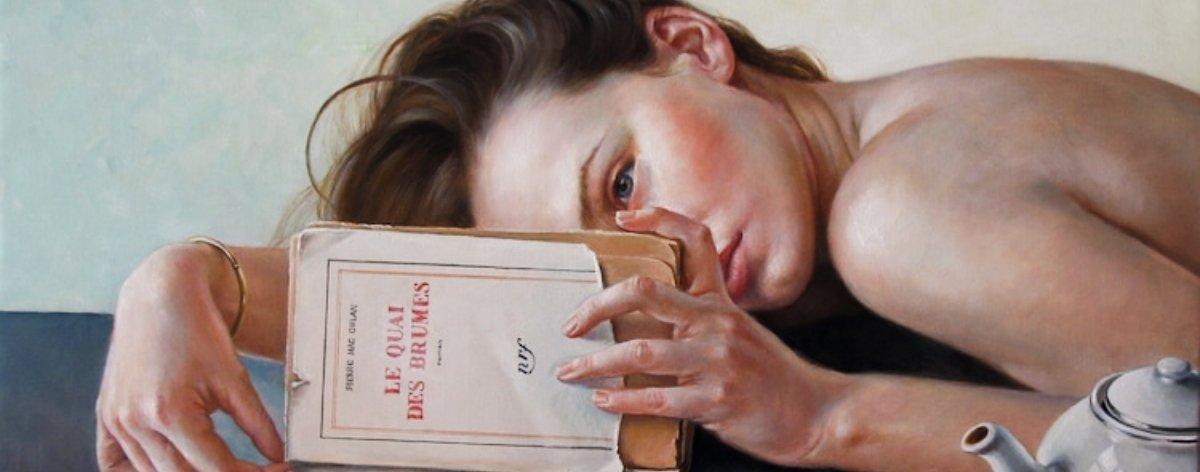 Francine Van Hove muestra el placer de no hacer nada