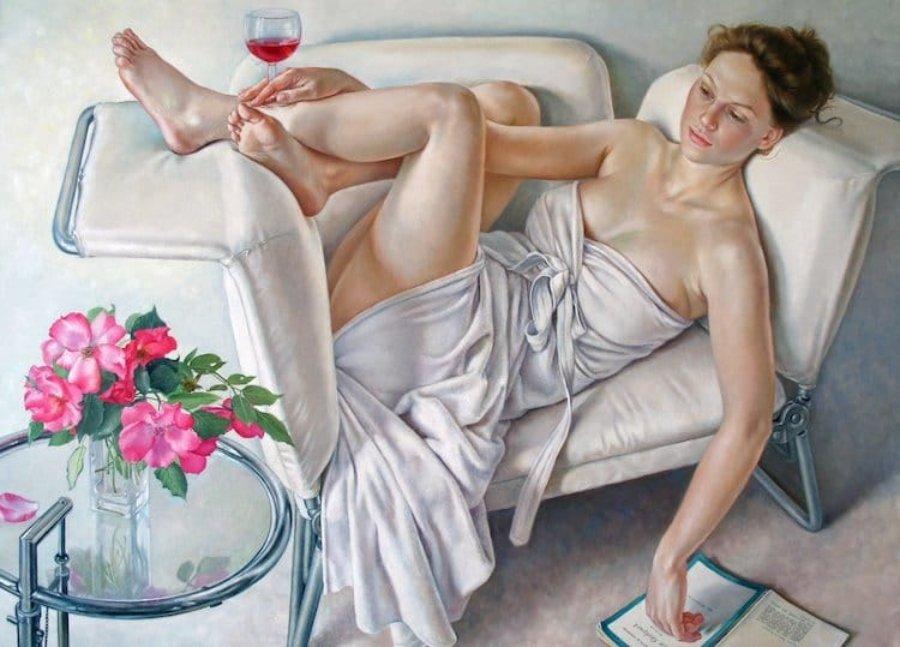 Francine Van Hove y el placer de no hacer nada