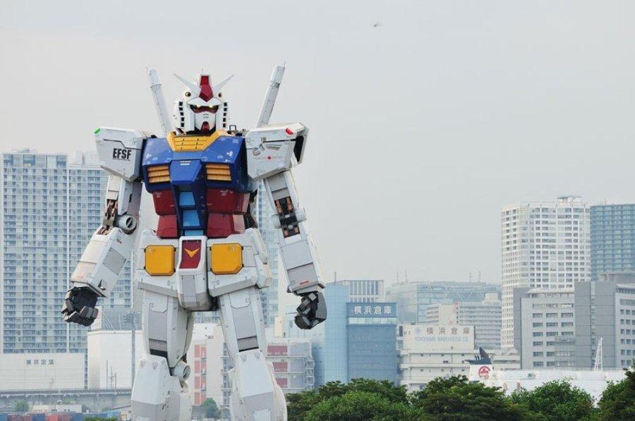 Robot RX-78-2 Gundam en Japón