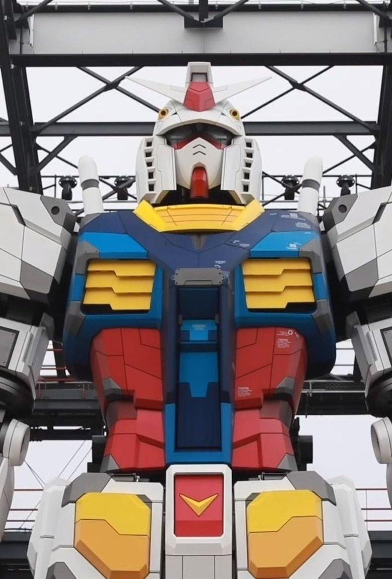 Gundam, el robot gigante que habita las calles de Japón