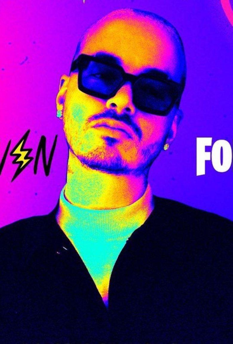 J Balvin en Fortnite para la fiesta de Halloween