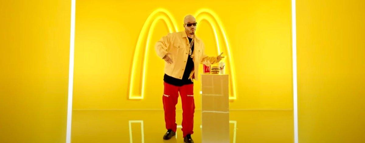 J Balvin y McDonald's con menú y colaboración