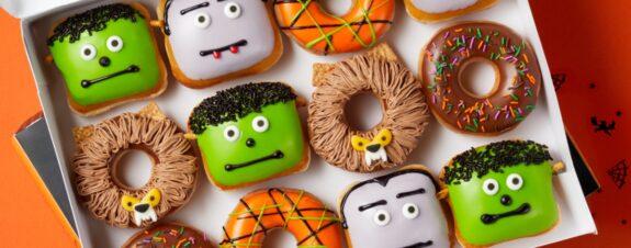 Krispy Kreme lanza donuts edición Halloween