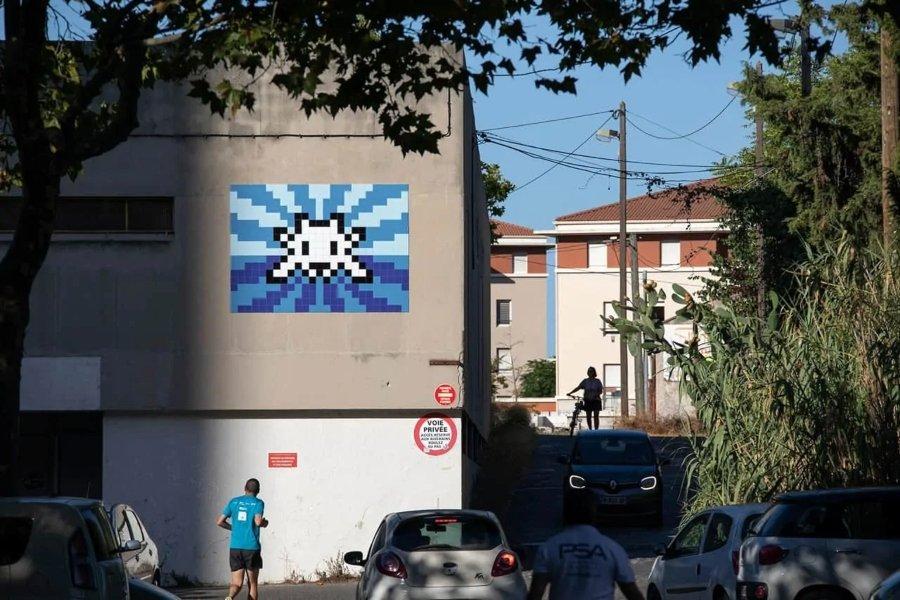La obra de Invader llega a Marsella