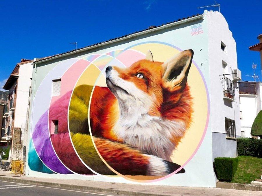 Mural por JM Brea