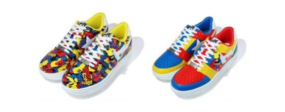 Medicom Toy y Bape lanzan colección colorida