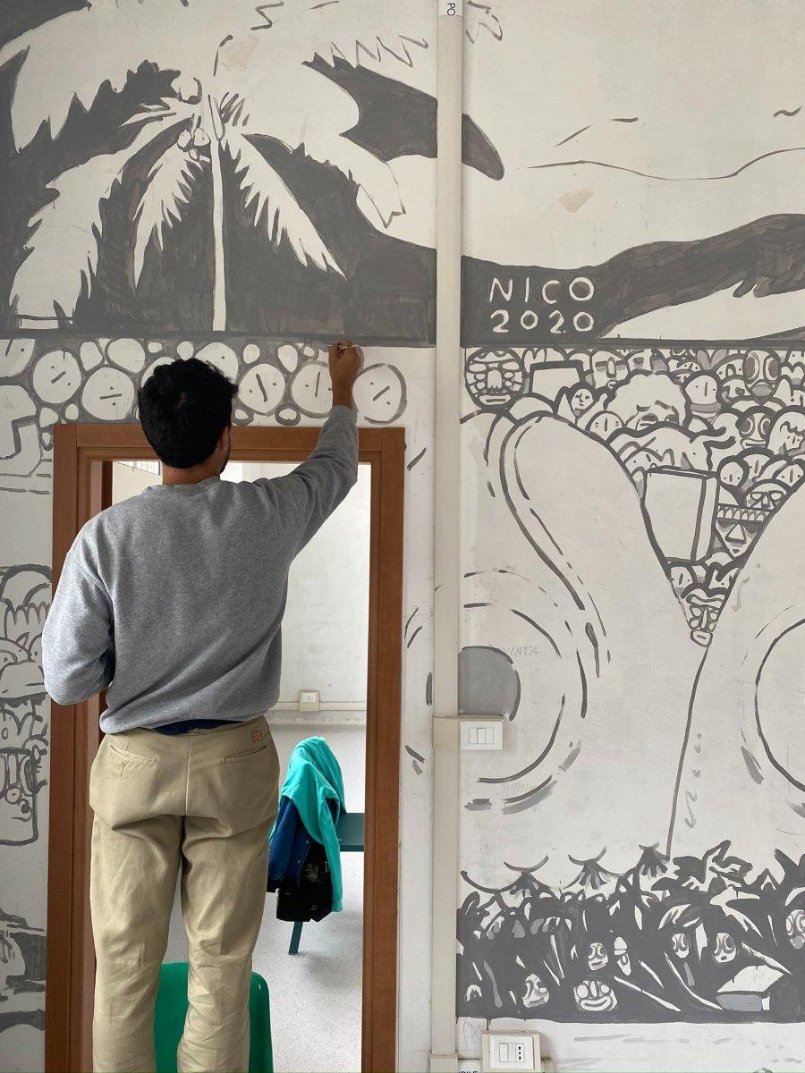Proceso de creación de Nico Miyakawa