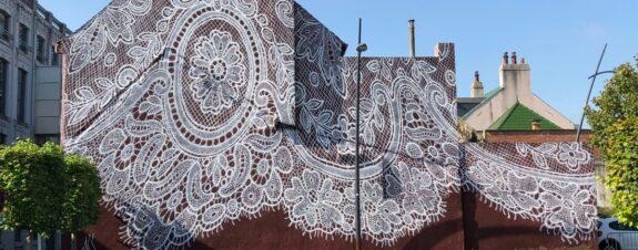 Mural de Spoon en Francia es una oda a la moda