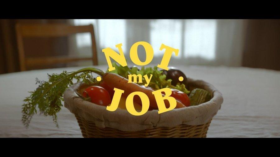 "Comienzo del video de ""Not My Job"""