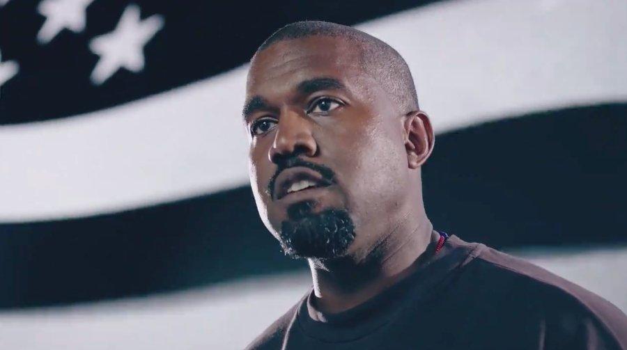 kanye West lanza su primer spot para la presidencia