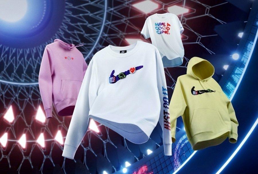 Colección de ropa de Nike y League of Legends