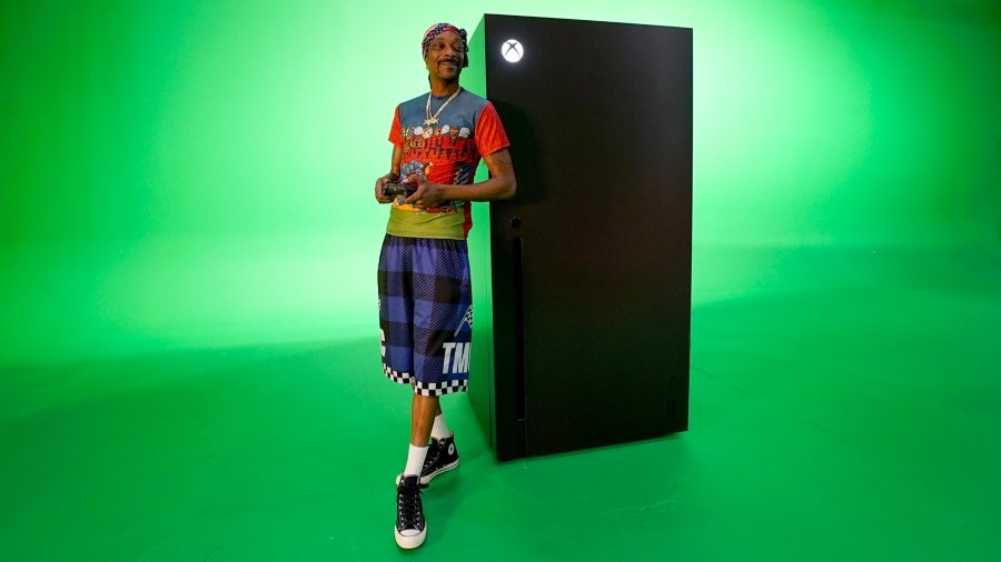 Nuevo refri de Xbox series x de Snoop dogg