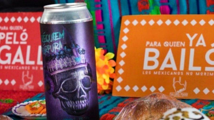 Cerveza Requiem Púrpura