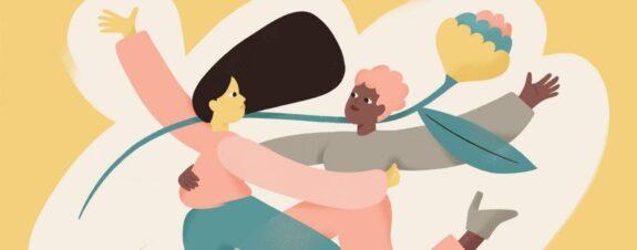 Hikimi y las ilustraciones para sentirse feliz