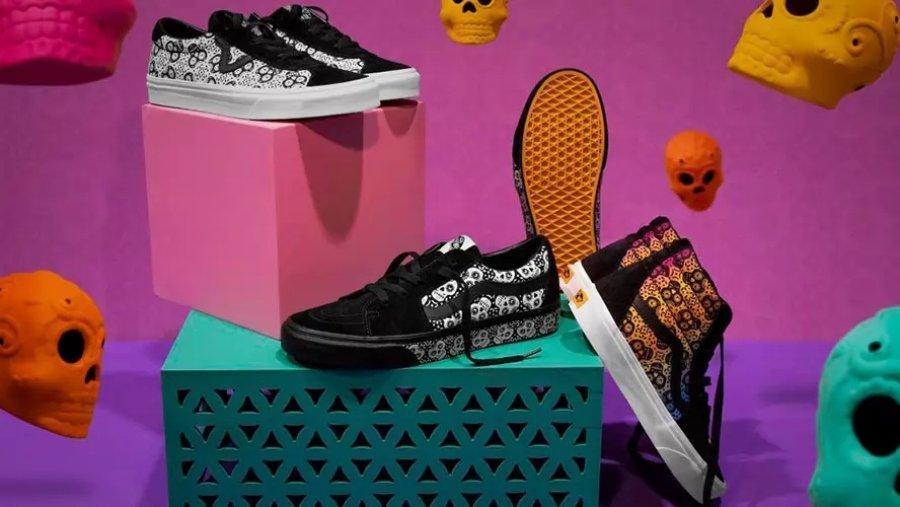 Sneakers de Día de Muertos por Vans