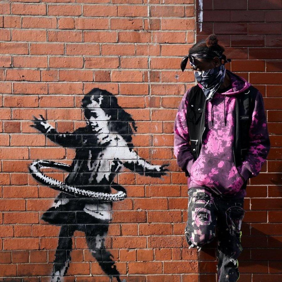 Una nueva pieza de Banksy en Nottingham