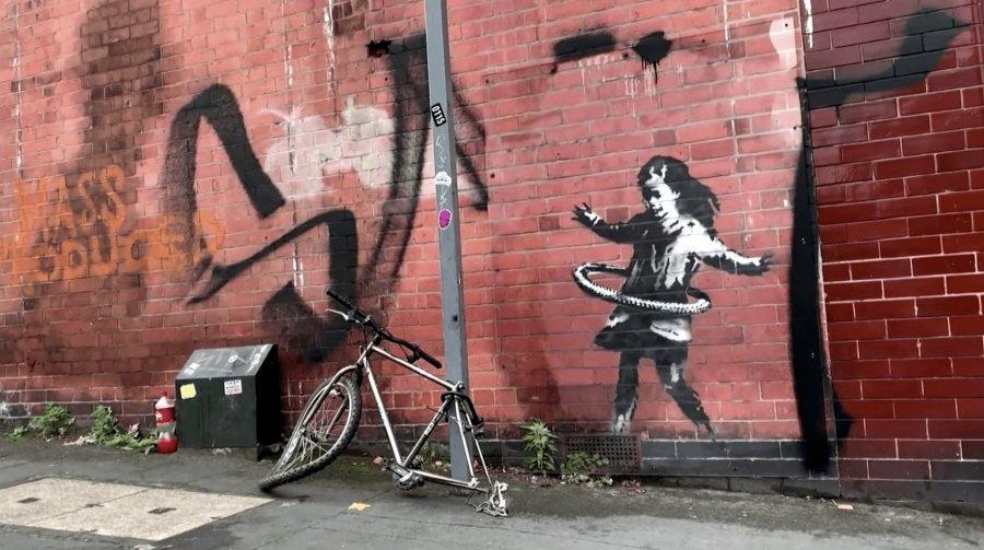 nuevo esténcil de Banksy