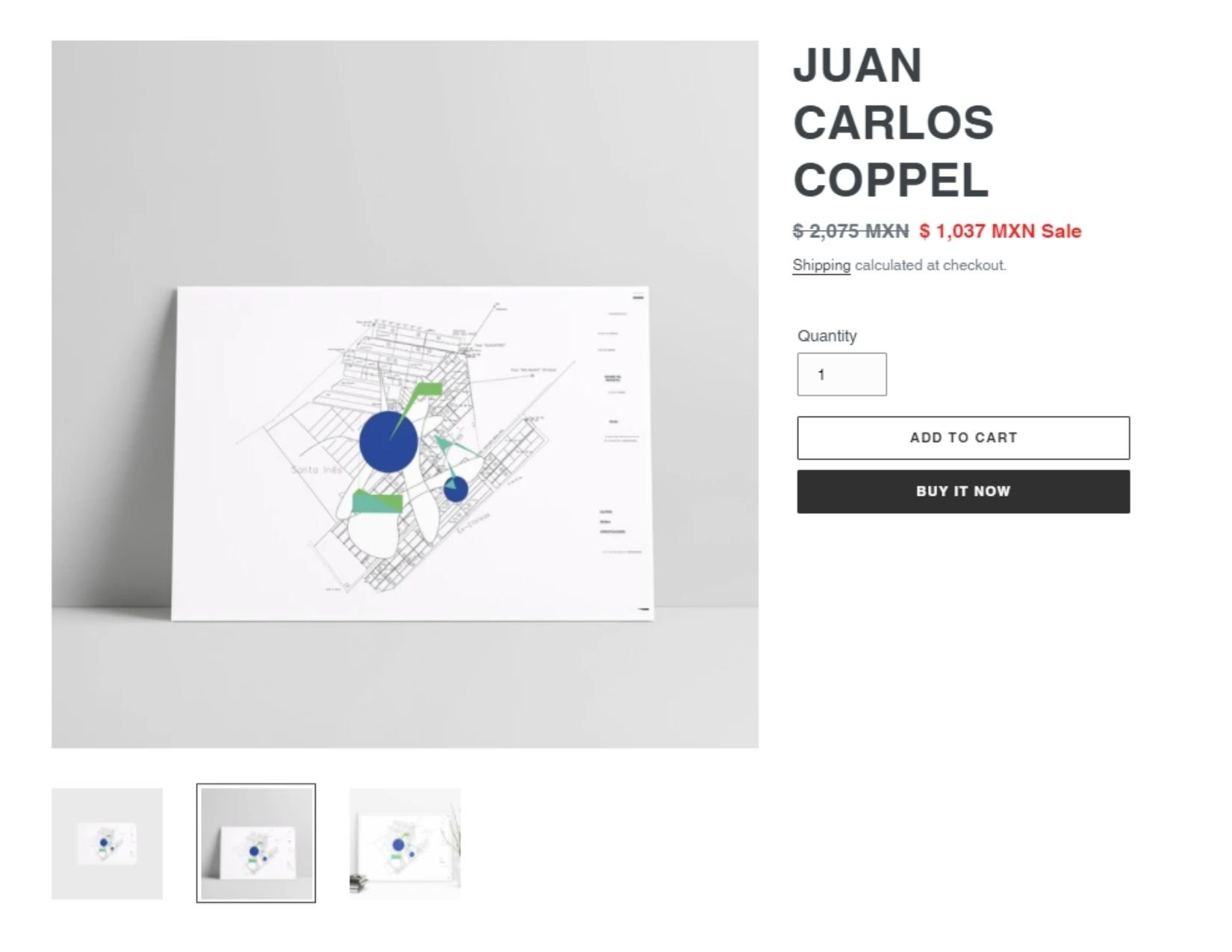 Print de Juan Carlos Coppel | Descuentos para el Buen Fin 2020