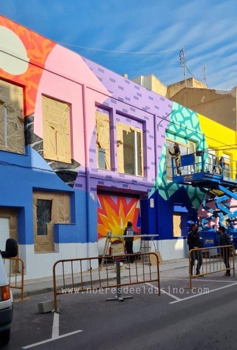 Antonyo Marest con nuevo mural en España